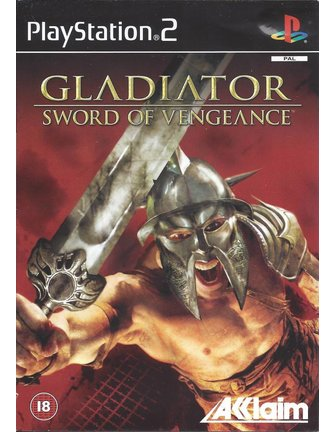 GLADIATOR SWORD OF VENGEANCE for Playstation 2 PS2