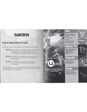 FAR CRY 3 + FAR CRY 4 DOUBLE PACK for Playstation 3 PS3
