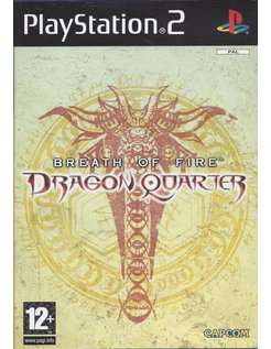 BREATH OF FIRE DRAGON QUARTER for Playstation 2 PS2