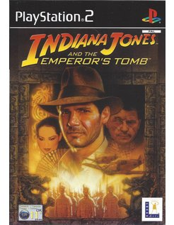 INDIANA JONES AND THE EMPEROR'S TOMB for Playstation 2 PS2