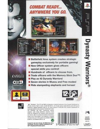 DYNASTY WARRIORS voor PSP