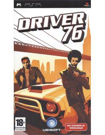 DRIVER 76 voor PSP