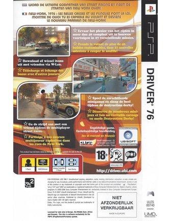 DRIVER 76 für PSP