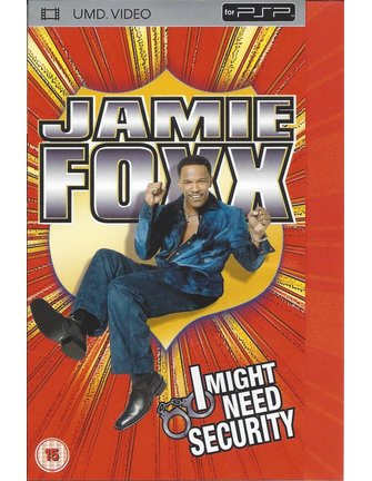 JAMIE FOXX - I MIGHT NEED SECURITY - UMD video voor PSP