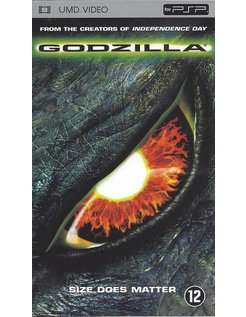 GODZILLA - UMD video voor PSP