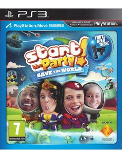 START THE PARTY SAVE THE WORLD für Playstation 3 PS3