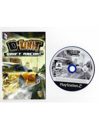 D-UNIT DRIFT RACING voor Playstation 2 PS2