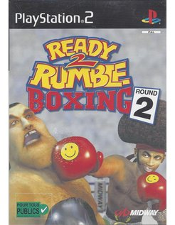 READY 2 RUMBLE BOXING ROUND 2 voor Playstation 2 PS2