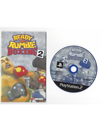 READY 2 RUMBLE BOXING ROUND 2 for Playstation 2 PS2