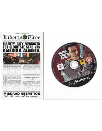 GRAND THEFT AUTO LIBERTY CITY STORIES for Playstation 2 PS2