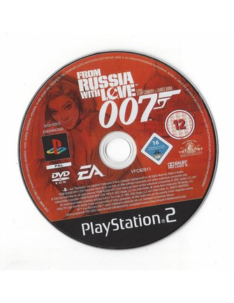 FROM RUSSIA WITH LOVE voor Playstation 2 PS2