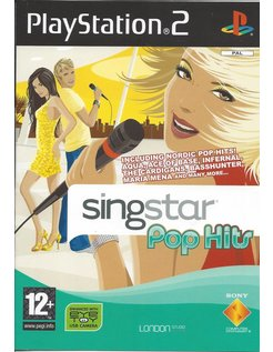 SINGSTAR POP HITS for Playstation 2 PS2