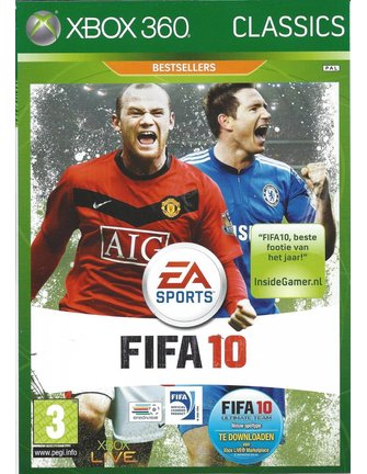 FIFA 10 for Xbox 360