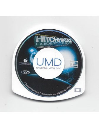THE HITCHHIKER'S GUIDE TO GALAXY - UMD video for PSP