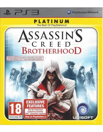 ASSASSIN'S CREED BROTHERHOOD for Playstation 3 PS3 - Platinum