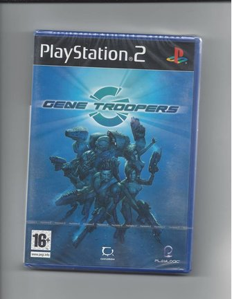 GENE TROOPERS NEW IN SEAL voor Playstation 2 PS2 - Italiaans