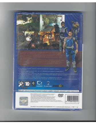 GENE TROOPERS NEW IN SEAL for Playstation 2 PS2 - Italian