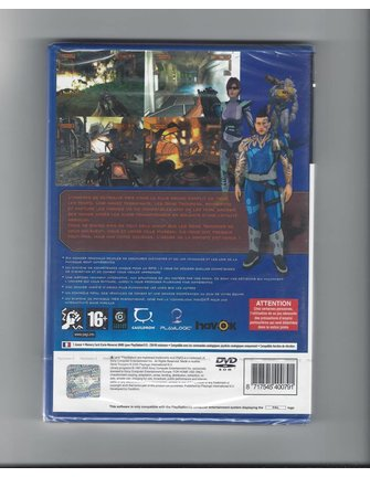 GENE TROOPERS NEW IN SEAL for Playstation 2 PS2 - French