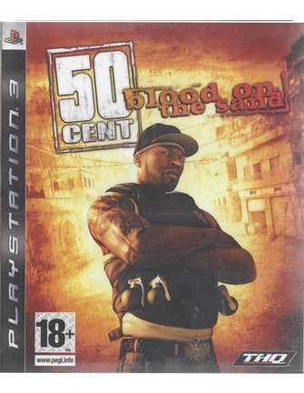 50 CENT BLOOD ON THE SAND voor Playstation 3 PS3