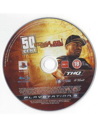 50 CENT BLOOD ON THE SAND for Playstation 3 PS3