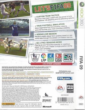FIFA 09 voor Xbox 360