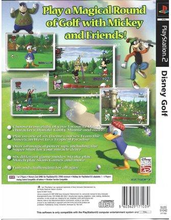 DISNEY GOLF voor Playstation 2 PS2