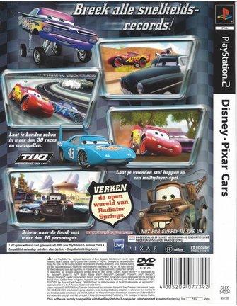 DISNEY PIXAR CARS for Playstation 2 PS2