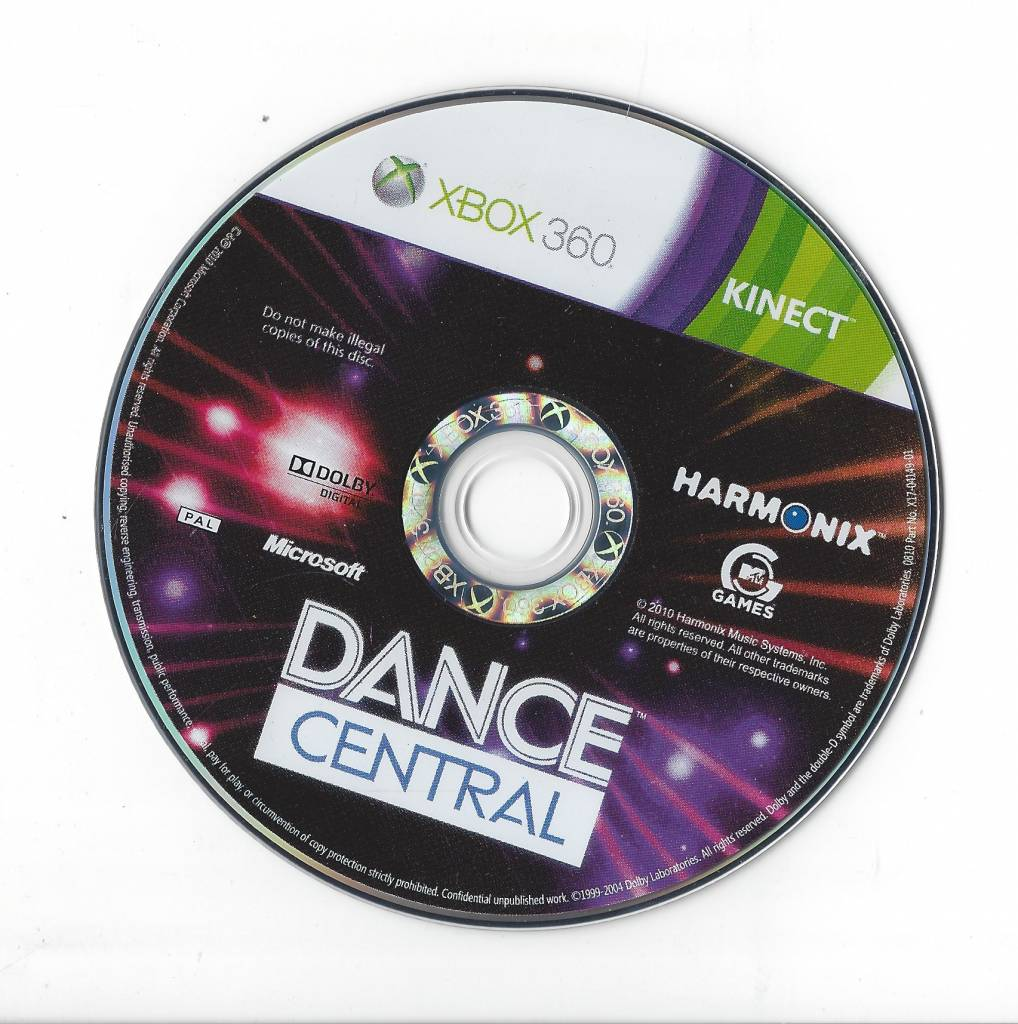 Dance Central for Xbox 360 - Passion for Games Webshop
