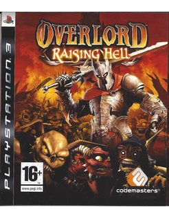 OVERLORD RAISING HELL for Playstation 3 PS3 - manual in FR NL