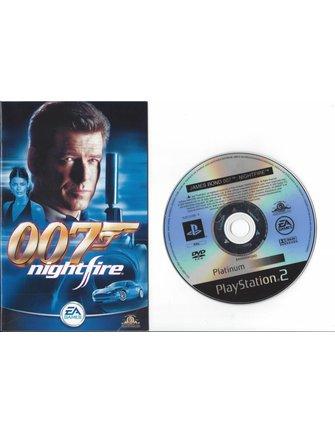 JAMES BOND 007 NIGHTFIRE voor Playstation 2 PS2
