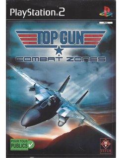 TOP GUN COMBAT ZONES voor Playstation 2 PS2 - ex-rental