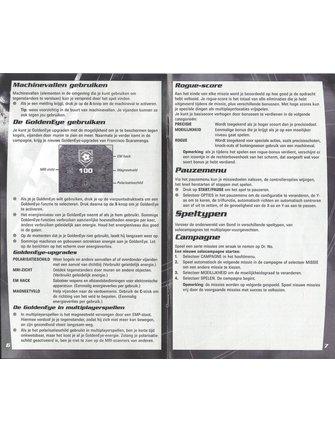 GOLDENEYE ROGUE AGENT voor Nintendo Gamecube