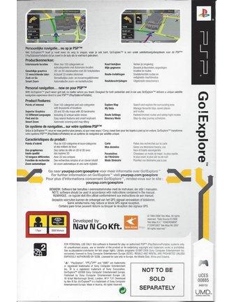 GO EXPLORE for PSP