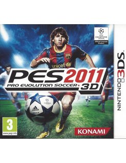 PRO EVOLUTION SOCCER 2011 - PES 2011 for Nintendo 3DS