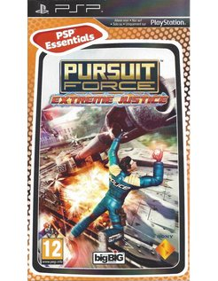 PURSUIT FORCE EXTREME JUSTICE ESSENTIALS voor PSP