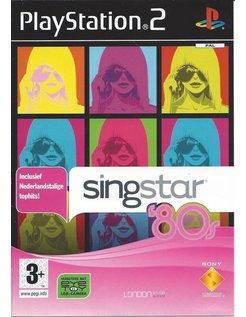 SINGSTAR 80s für Playstation 2 PS2 - Niederländisch