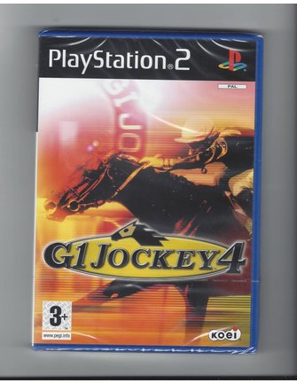 G1 JOCKEY 4 NEW IN SEAL for Playstation 2 PS2