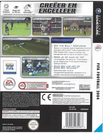 FIFA FOOTBALL 2004 voor Nintendo Gamecube