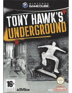TONY HAWK'S UNDERGROUND voor Nintendo Gamecube