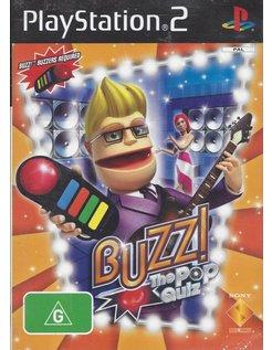 BUZZ THE POP QUIZ voor Playstation 2