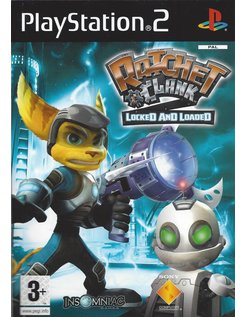 RATCHET AND CLANK 2 LOCKED AND LOADED voor Playstation 2 PS2