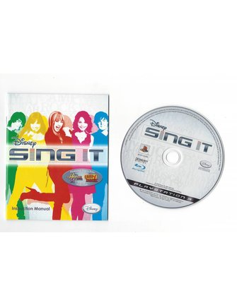 DISNEY SING IT voor Playstation 3 PS3 - ENG SWE DAN NOR