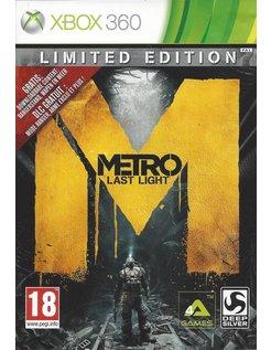 METRO LAST LIGHT voor Xbox 360