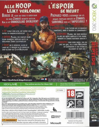 DEAD ISLAND RIPTIDE für Xbox 360
