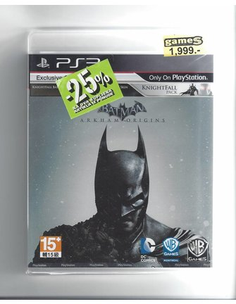 BATMAN ARKHAM ORIGINS voor Playstation 3 PS3 - NIEUW