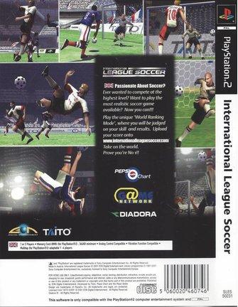 INTERNATIONAL LEAGUE SOCCER  voor Playstation 2 PS2