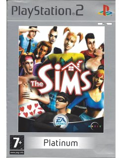 THE SIMS voor Playstation 2 PS2 - Platinum