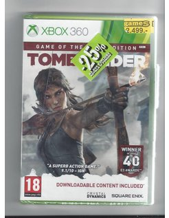 TOMB RAIDER GOTY NEW IN SEAL for Xbox 360