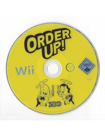 ORDER UP for Nintendo Wii