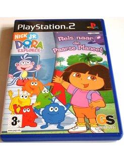 DORA THE EXPLORER - REIS NAAR DE PAARSE PLANEET - Playstation 2